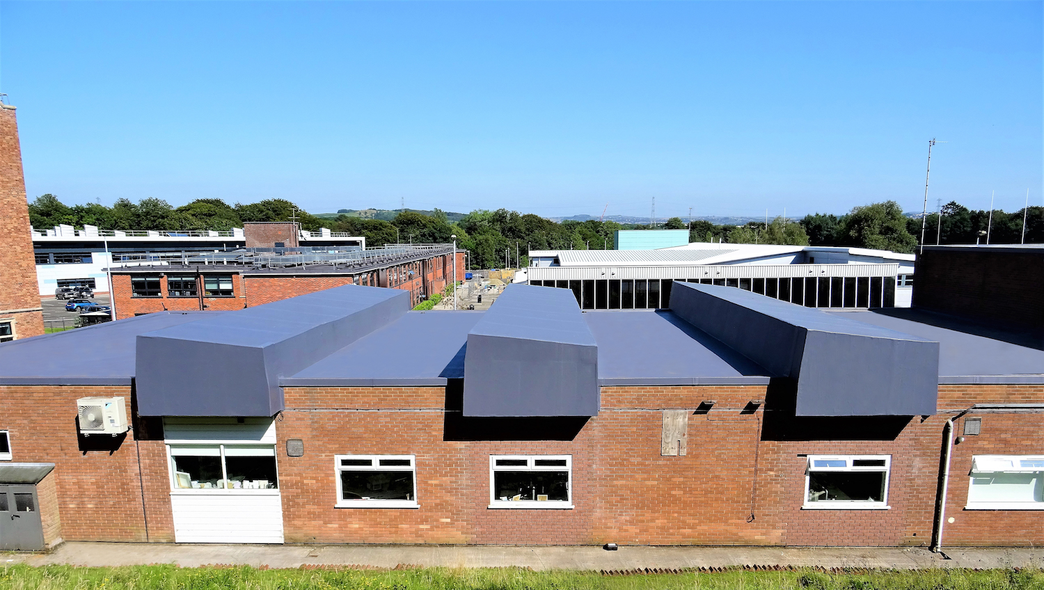 Refurbishment Of The Roof At The Middleton Campus