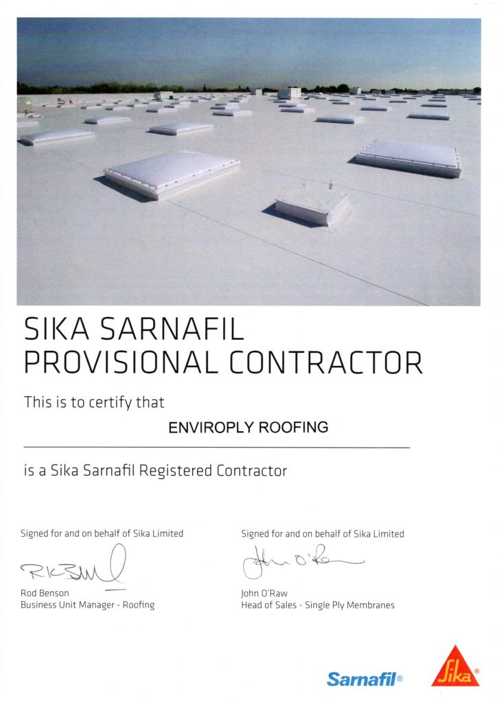 Sika-Sarnafil-Approved-Contractor-Cert-724x1024
